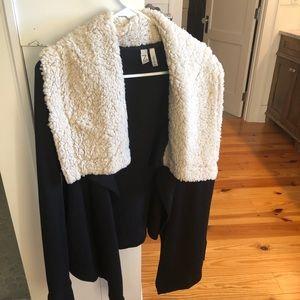 Brand New — Zella Faux Fur Sweater — Never Worn